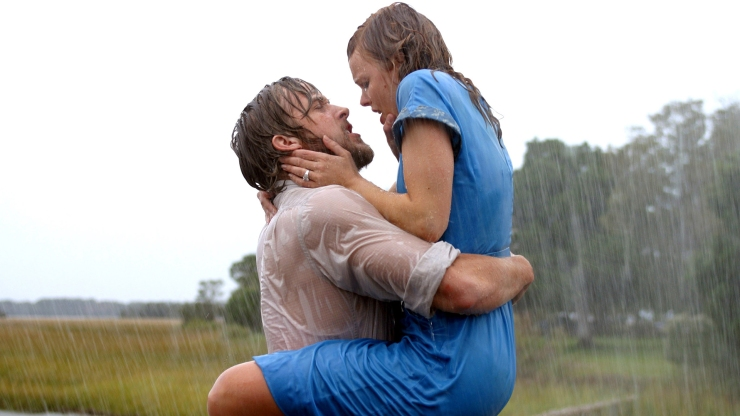 "Image: Ryan Gosling Rachel McAdams in ""The Notebook"""