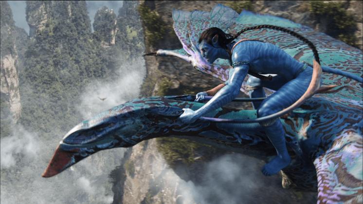 Banshee-flight-from-James-Camerons-Avatar