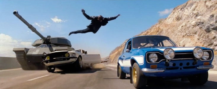 6. Fast and Furious 6