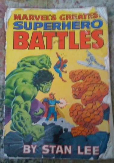 Marvel's Greatest Superhero Battles (front cover)