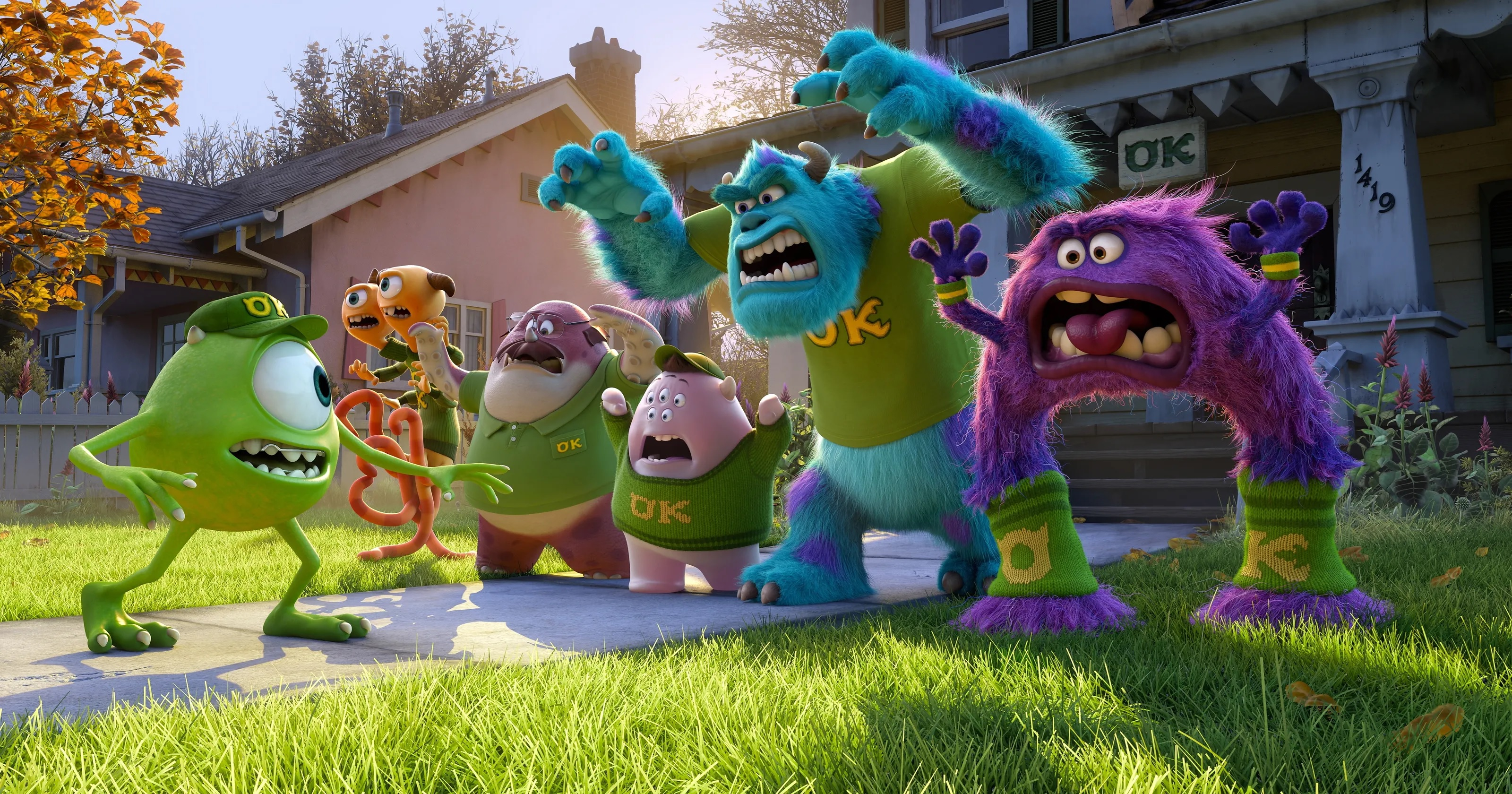 28. Monsters University