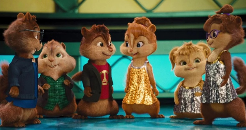 3. Alvin and the Chipmunks The Squeakquel