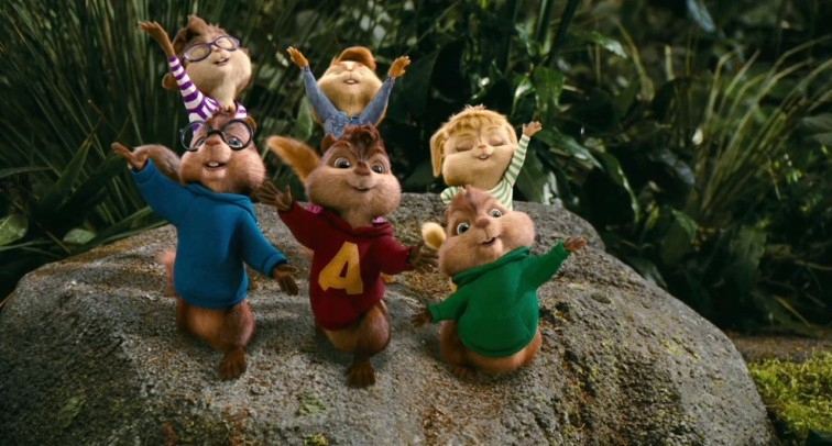 4. Alvin and the Chipmunks Chipwrecked