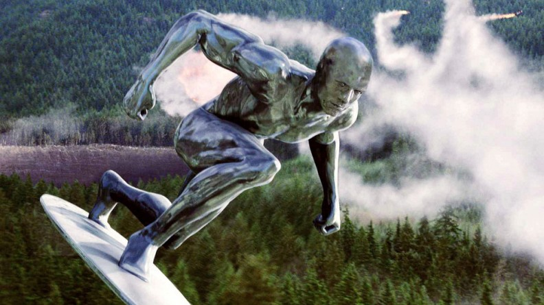 4. Fantastic 4 Rise of the Silver Surfer