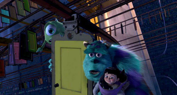 8. Monsters, Inc.