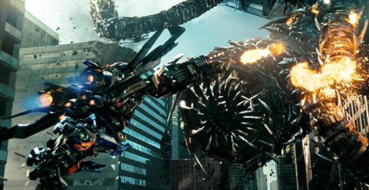 4. Transformers Dark of the Moon