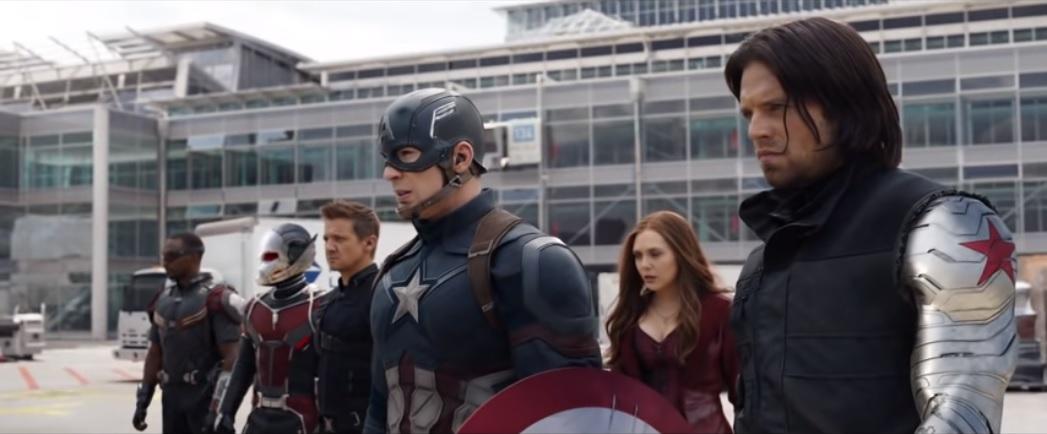 27. Captain America Civil War
