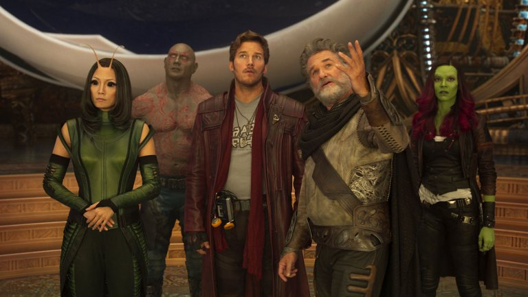 32. Guardians of the Galaxy Vol. 2