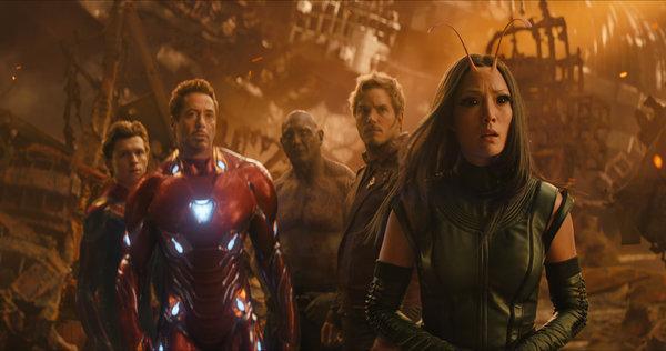 40. Avengers Infinity War