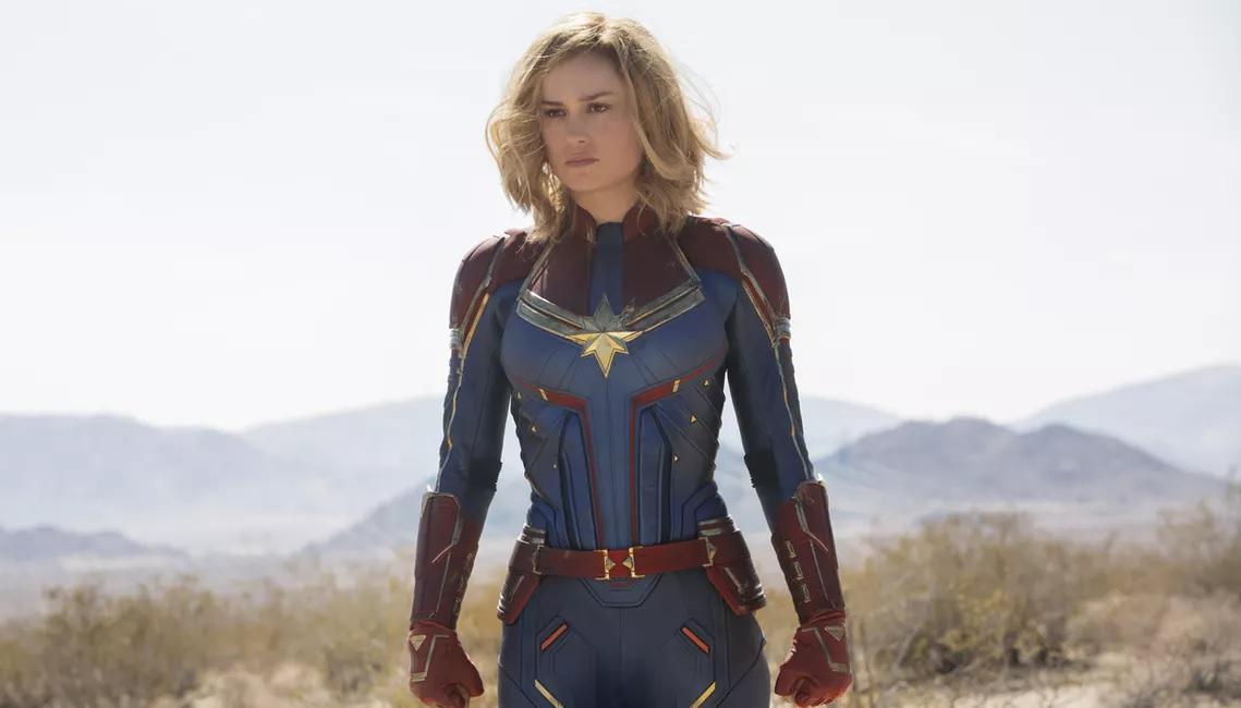 44. Captian Marvel