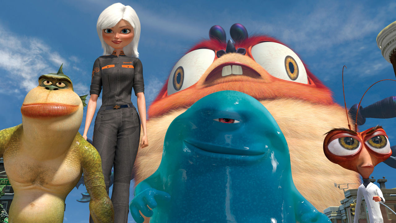 15. Monsters vs. Aliens