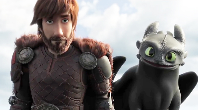34. How to Train Your Dragon The Hidden World