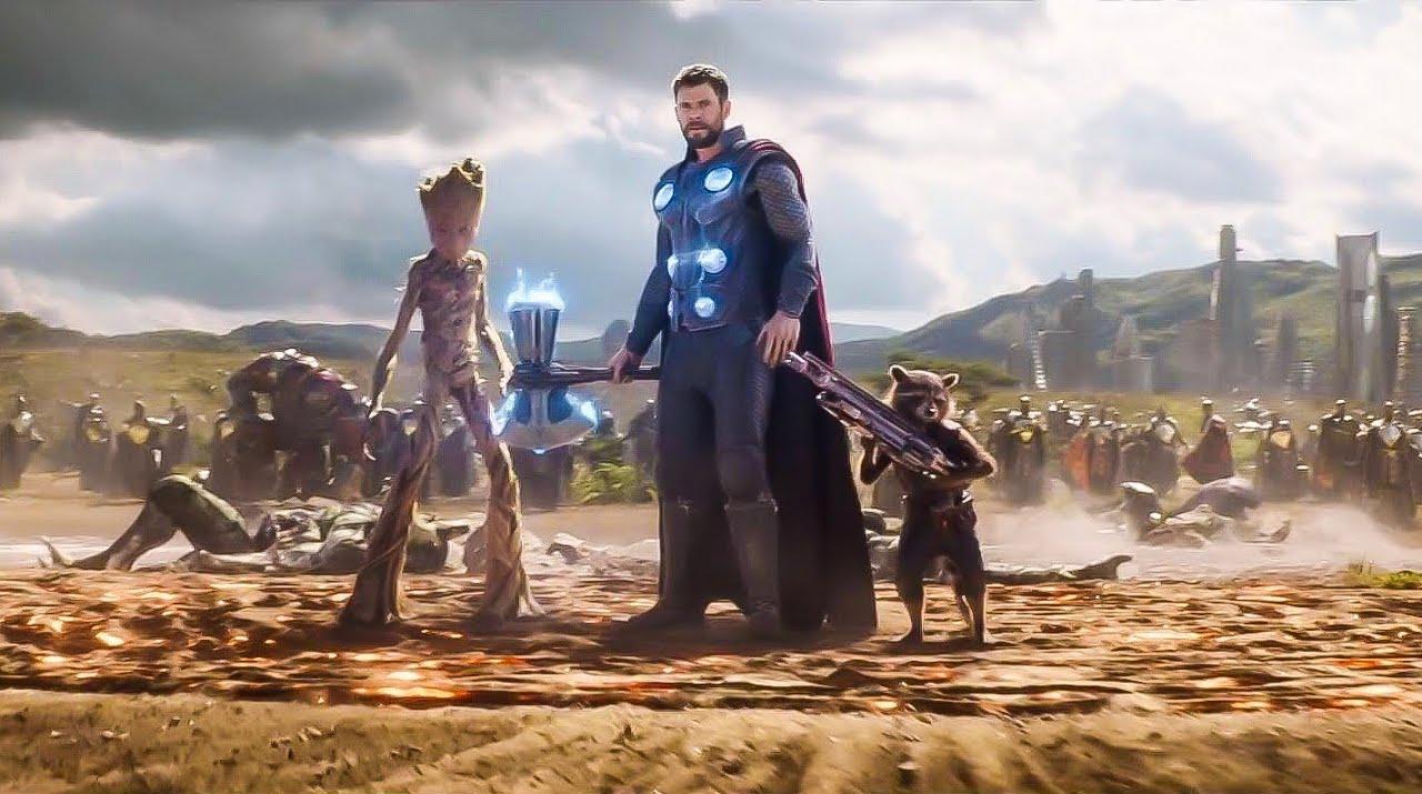 42. Avengers Infinity War